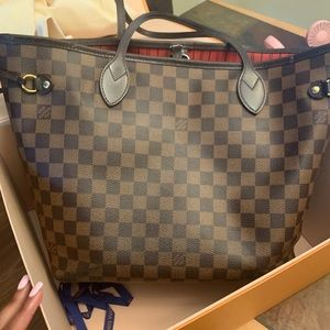 AUTHENTIC LOUIS VUITTON NEVER FULL